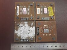 4X VINTAGE  CPU FOR GOLD SCRAP RECOVERY AMD QEQ DAS