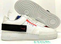 Nike Air Force 1 Type Low AF1 Men's Drop Type N.354 Summit White CI0054-100 NIB