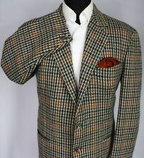 Tweed Blazer Jacket Trussardi Designer Wool 42S EXCEPTIONAL ITEM 3182