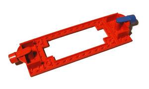 LEGO® Grundplatte Dampflok Magnete rot Eisenbahn 180 181 726 Trains 4178a