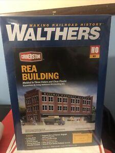 Walthers # 3095 Railway Express Agency (REA) Transfer Building Kit HO MIB