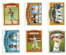 2021 Topps Heritage Baseball SINGLES ROOKIES AND STARS: