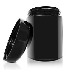 Smell Proof Container Stash Jars 250ml UV Glass Jar Airtight