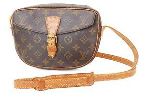Authentic LOUIS VUITTON Jeune Fille PM Monogram Crossbody Shoulder Bag #39949