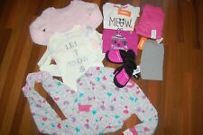 NWT Girls size 5 Fall Winter 8 Piece Lot CARTER'S JUMPING BEANS TCP GYMBOREE