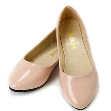 Women Ballerina Ballet Dolly Pumps Ladies Work Slip On Flat Loafers Shoes Sizes
