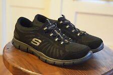 Skechers Gratis In Motion Black Lightweight Fashion Sneakers Shoes Women's 8