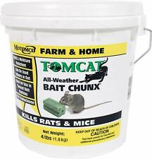 Tomcat Bait Chunx Mouse Poison 4 Lb Rats Mice Killer Food Rodent - New