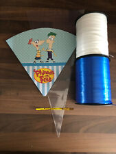 5 PHINEAS AND FERB DIY PARTY CONES