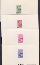 VIETNAM SOUTH 1963 Sc 203/206 Deluxe Proofs