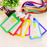 1X Plastic ID Name Card Holder Case Badge Lanyard Neck Strap Necklace StrAS