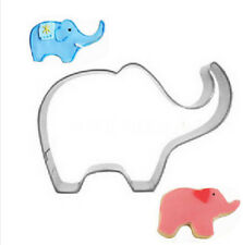 Elephant Stainless Steel Cookie Biscuit Cutter Mould Fondant Baking Pastry UK