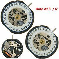 Japanese VX12E Quartz Movement Date At 3' / 6' 3-Pin Watch Accessories + Battery