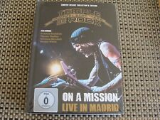 Box Set: Michael Schenker's Temple Of Rock : On A Mission Madrid 2CDs 2Blu-rays