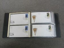 ISRAEL 1960's FDC 128 FIRST DAY COVERS COLLECTION EXCELLENT