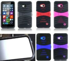 BUILT IN SCREEN PROTECTOR Faceplate Phone Case For Nokia Lumia 640