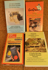 Model Railroad Building Videos 4 tapes and one Dvd