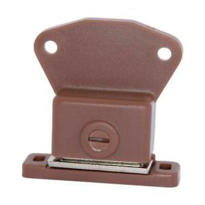 1x BROWN Magnetic Latch Cabinet Cupboard / Door Drawer Magnet Locks Catches