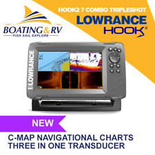 Lowrance Hook2 7 Combo Tripleshot + Transducer + Maps + Accessories + Free Post!