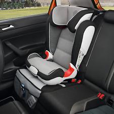 Unterlage für Kindersitzsystem Grau/Schwarz, mit Rückenlehnenschutz