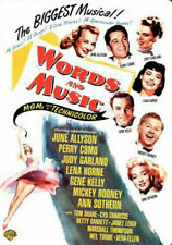 Words and Music 0012569795327 With Mickey Rooney DVD Region 1