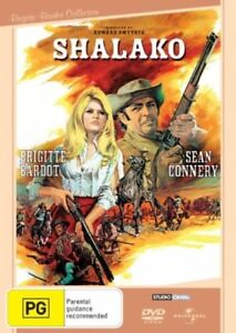 Shalako Sean Connery Brigitte Bardot Region 4 DVD Excellent Condition
