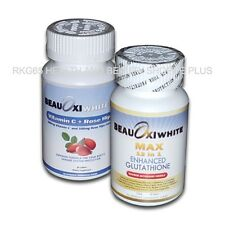 1set Beauoxi White MAX 12in1 ENHANCED GLUTATHIONE and Vitamin C with Rose Hip