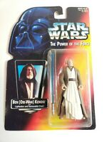 Hasbro Star Wars Power of the Force Ben Kenobi Red Card Action Figure Brand New