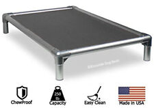 Kuranda All-Aluminum Dog Bed - 40oz Vinyl Fabric - Grey
