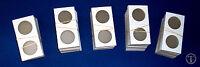 500 Silver Eagle 2.5 X 2.5 Cardboard/Mylar Coin Holders Flips 43mm