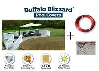 Buffalo Blizzard Aboveground 15 YR Supreme Plus Round Swimming Pool Winter Cover