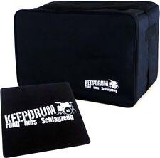 Keepdrum CB-01 Cajon Gig Bag Tasche Cajontasche + Pad CP-01 Sitzauflage