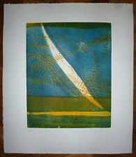 Willibrord Haas gravure originale signée abstrait Abstraction max ernst