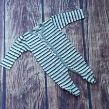 Little Mish Baby cotton footie Sleeper playsuit babygro size newborn