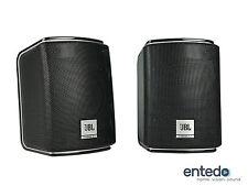 2 sat altavoces del JBL Cinema 510 speaker boxeo 610 cine en casa negro