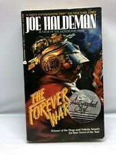 Joe Haldeman The Forever War Signed Autograph Paperback Copy Sci Fi Classic
