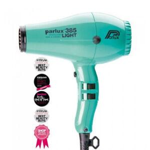 NEW, Parlux 385 Powerlight Ionic Ceramic Dryer 2150W - Aquamarine
