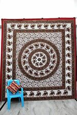 Queen Hippie Gypsy Cotton Picnic Throw Bohemian Mandala Tapestry Wall Hanging