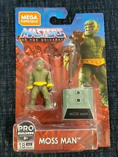 NEW Mega Construx Masters Of The Universe Moss Man 18 Pieces on Hanger Card