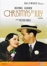 CHRISTMAS IN JULY - VOST EN FRANCAIS / DICK POWELL /*/ DVD NEUF/CELLO
