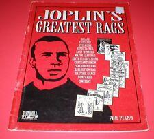 Joplin'S Greatest Rags for Piano~Scott Joplin~13 Titles