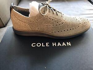 Cole Haan OG GRD STCHLT WNG OX Magnet/Ivory Size 10 Men's Shoes C27961 New