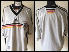 GERMANY 1998 ADIDAS FUSSBALL TRIKOT DEUTSCHLAND JERSEY VINTAGE  FOOTBALL SHIRT