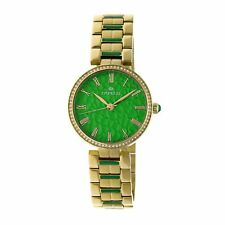 Empress Catherine Automatic Hammered Dial Gold Bracelet Women's Watch EM1903