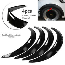 Universal 4Pcs 110mm  Fender Flares High Quality Over Wide Body Wheel Arches ABS