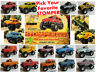 McDonald's 1986 STOMPER MINI 4x4 Truck Schaper CHEVROLET Dodge YOUR Toy CHOICE