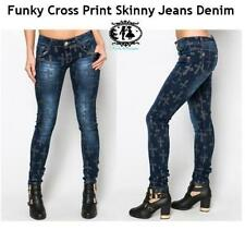 Denim Mid Rise Petite Jeans for Women