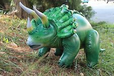 Triceratops Inflatable Jurassic Dinosaur Party Decorations 43 Inches Long