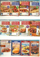 Phil & Favorite Alltime Recipes Diabetic Cooking Cookbooks Set of 12