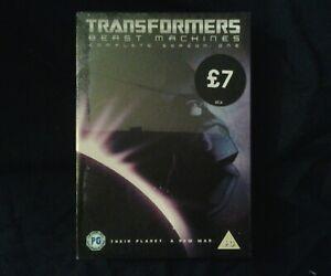 transformers beast machines  dvd new sealed